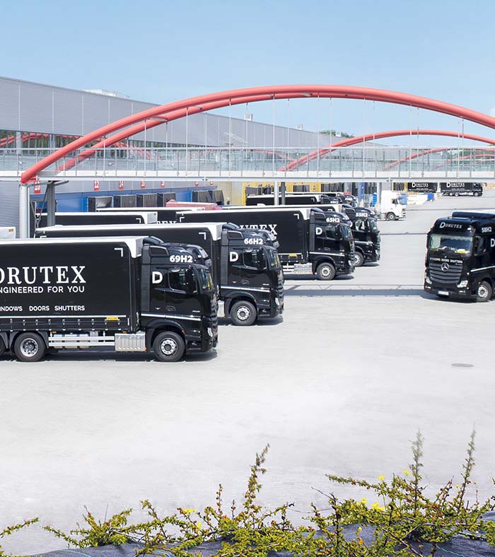 Own transport fleet