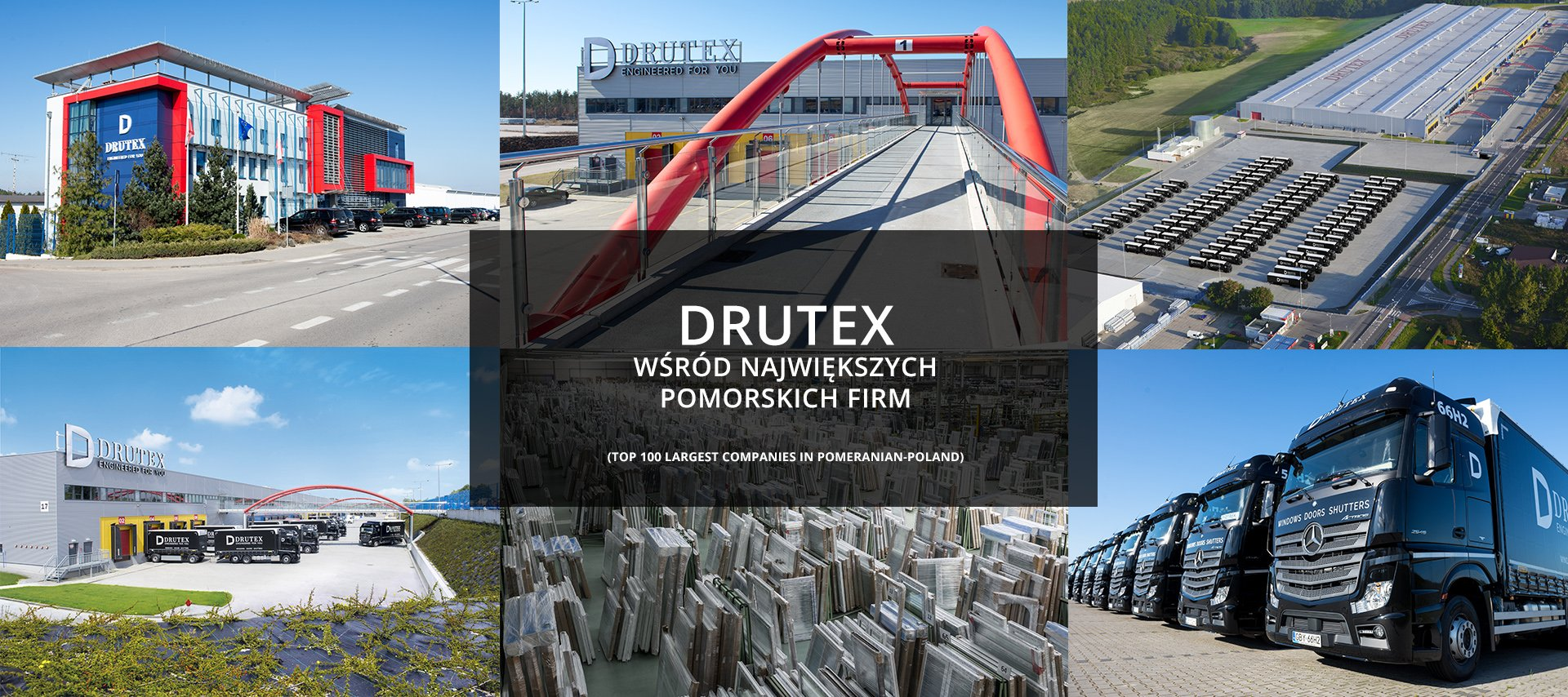 Drutex among the biggest Pomeranian companies