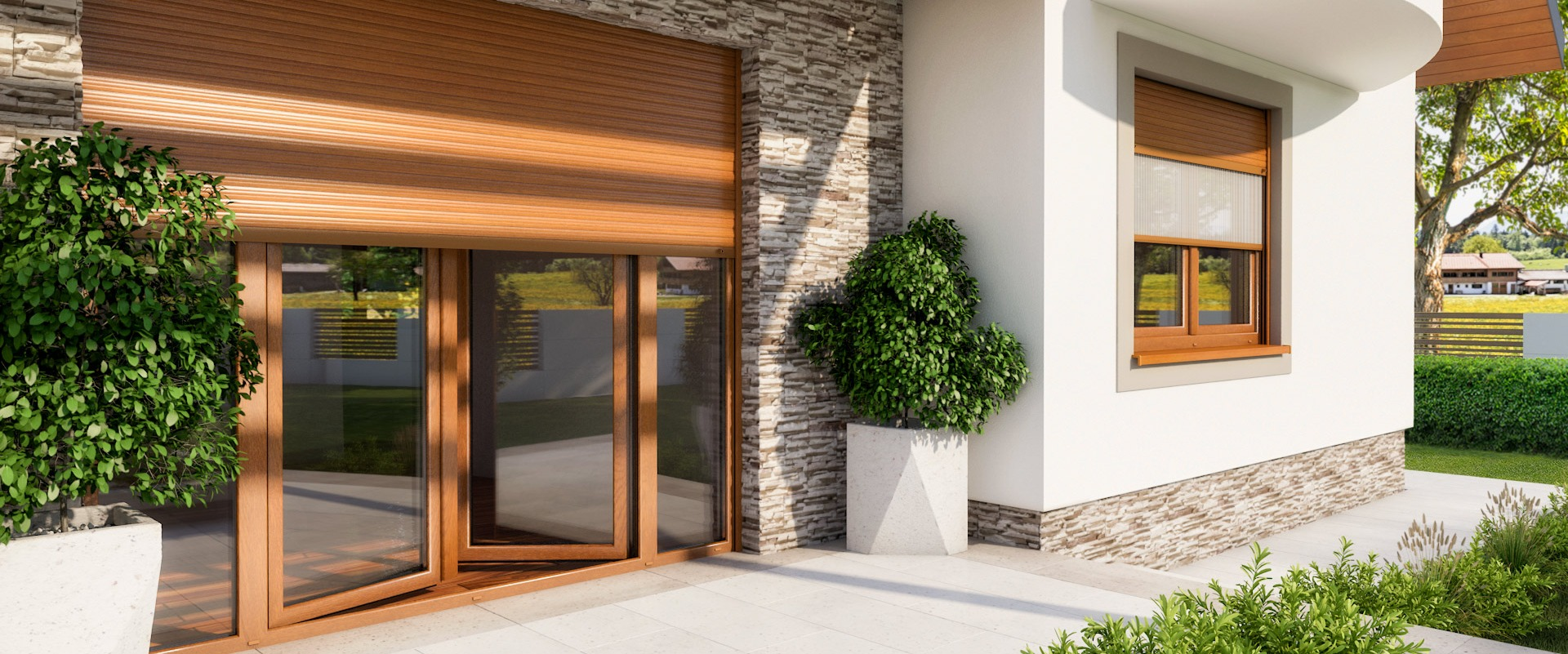 External roller shutters – a way to keep warm
